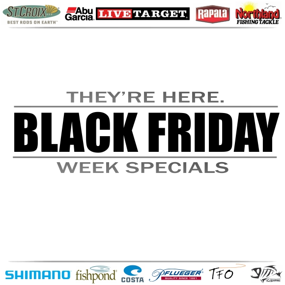 The start of the holiday shopping season has begun!  Check out our Black Friday specials here!